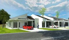 Johor.Tangkak, New Single storey terrace for sell