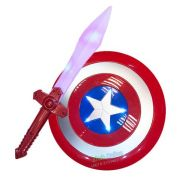 Captain America Sheid with Sword Set With Sound