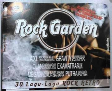 CD ROCK GARDEN AXL Gravity Olan Ekamatra Mega Putr
