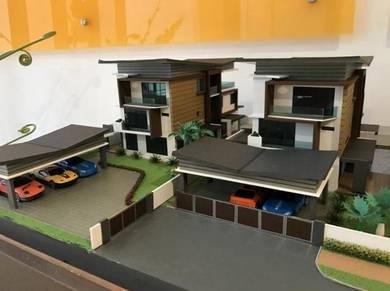 Exclusive 3-Storey Detached House at Jalan Arang
