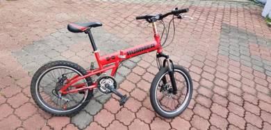 Hummer folding bike.basikal lipat 20inch