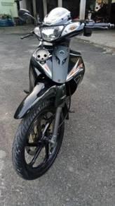 2013 Yamaha 125zr   shoei honda hitam