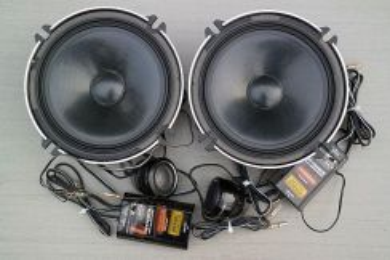 Speaker black series carrozzeria TS-C1720A
