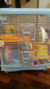 Sangkar Hamster 2 tingkat