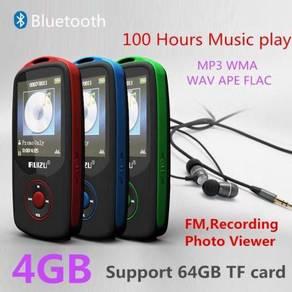 New RUIZU Bluetooth MP3 Music Player 4GB 100 Hours