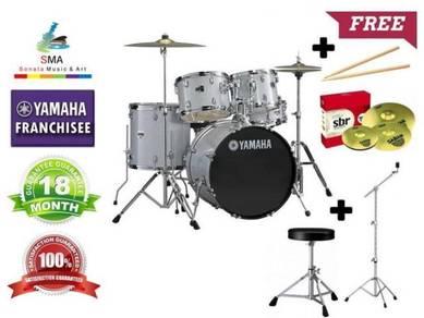 Yamaha Rydeen Acoustic Drum Silver Glitter