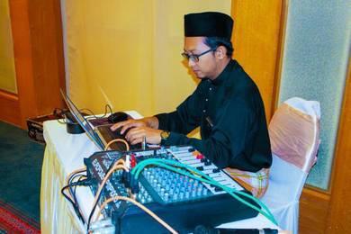 DJ EMCEE KAHWIN PERKAHWINAN, Sewa PA sistem system