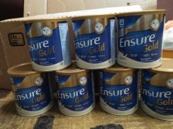 Susu Ensure Gold (Vanilla) 400gm