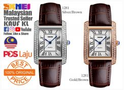 SKMEI 1281 Lady Woman Watch Jam Tangan Wanita