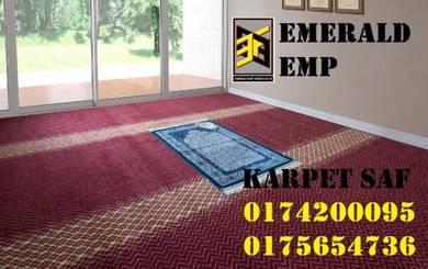 Karpet masjid tebal kualiti buatan luar negara