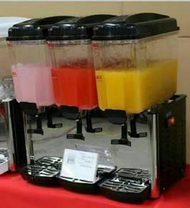 Electric juice dispenser 3 tanks