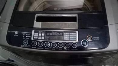 Mesin basuh Washing machine washer LG 9.5kg