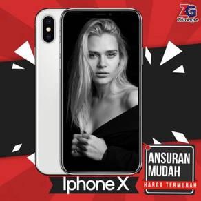 Iphone X (3GB RAM / 64GB ROM) [Ansuran Disediakan]