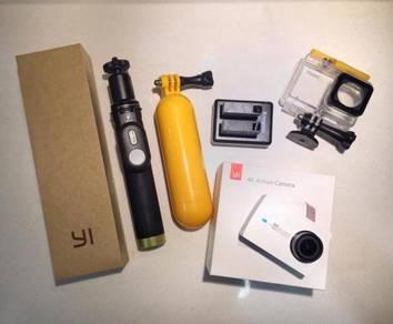 Yi 4k action cam set