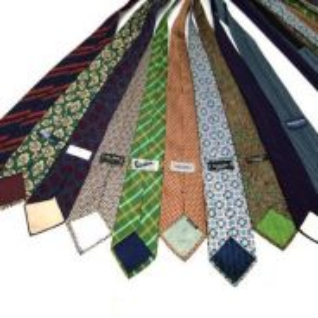 Combo neck tie branded