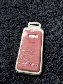 Samsung S8 Alcantara Case