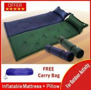 Inflatable Camping Air Mattress Bed N Pillow (14)