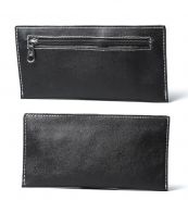 0101 Ultra-Thin Retro Clutch Bag Men Long Wallet