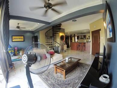 DUPLEX PENTHOUSE Sri Kinabalu Wangsa Maju FACING KLCC NON BUMI LOT