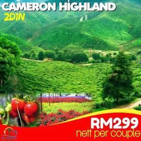 Pakej cameron highland 2d 1n per couple