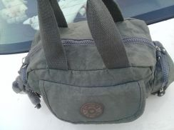 Kipling grey carry bag