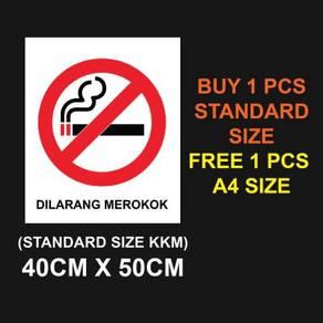 Sticker & Sign Dilarang Merokok