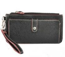 0102 Multi-card Zipper Clutch Bag Long Wallet