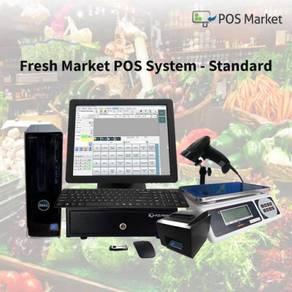 POS System Retail For Fresh Market