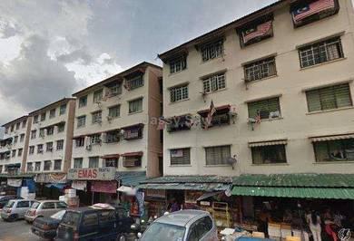 Flat Taman Bukit Angkasa (Block 17) for rent kemasukkan February 2019