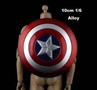 Avengers Cap Shield-Thor Hammer-Loki spear 1/6