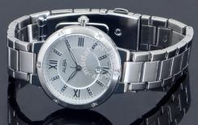 Alba Ladies Swarovski Date Watch VJ22-X159RSSS