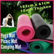 Yoga Mat Exercise 10mm (77)