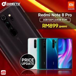 XIAOMI REDMI Note 8 PRO (6GB RAM/64GB)100% MYset