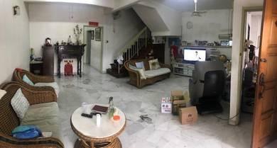 KEPONG [ Taman Bukit Maluri ] 2 Storey , 22x85 Kitchen Extended