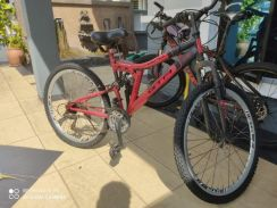 Second hand mountain bike