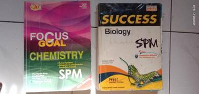 Second hand SPM reference books (negotiable)