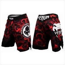 UFC MMA VENUM Red Wand short Pant seluar (Gym Fit