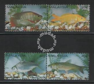 Mint Fresh Water Fish Malaysia 1983