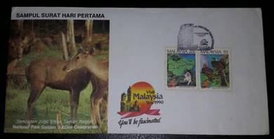 FDC Sambutan Jubli Emas Taman Negara 1989