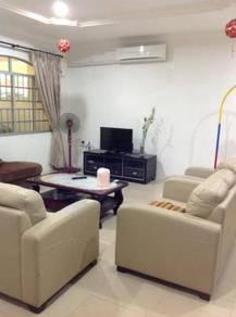 Spacious Double-Storey Intermediate House at Jade Garden, Labuan