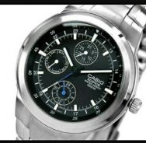 Casio Men's EF305D-1AV Edifice Multifunction Watch
