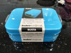 Food container with tray lunch box