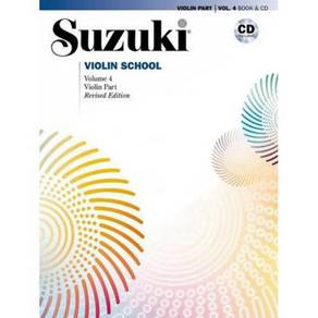 Suzuki Violin School, Vol 4: Violin Part, Book &CD