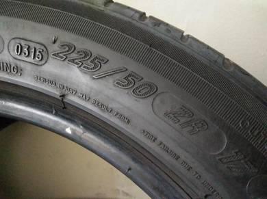 Tayar Michelin ps3 225 50 17 w205 f30 merce bmw