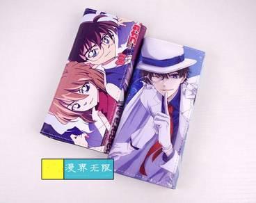 Anime SAO MIKU love live conan detective wallet