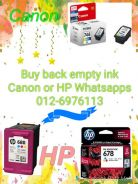 Empty Canon 810 & 811 for cash Terengganu