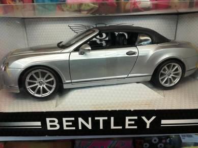 Maisto bentley continental gt convertible 1/18