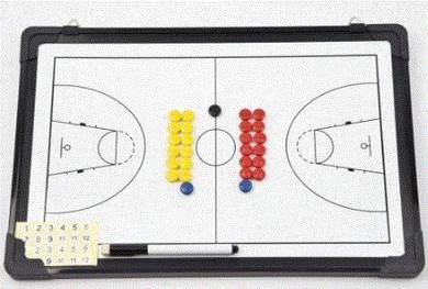 17RA Basketball Coaching Board 30cm
