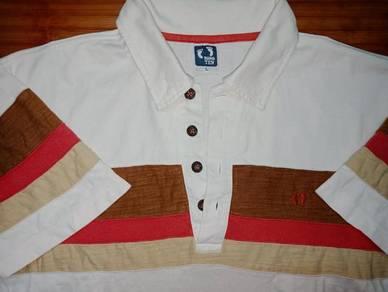 Authentic HANG TEN Striped SzL Collar Shirts