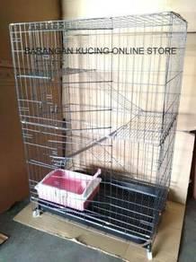 Sangkar Kucing Baru Untuk Dijual 3 tingkat (9134#)